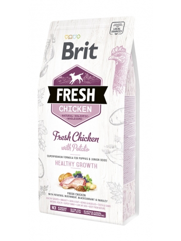 Brit Fresh Puppy & Junior Chicken & Potato - 2,5kg