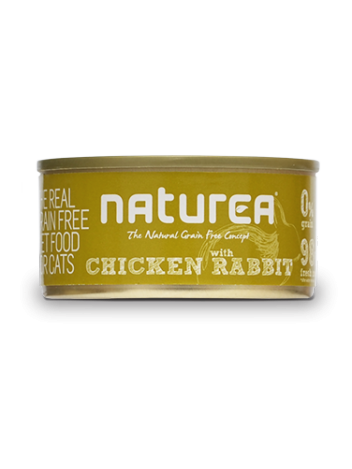 Naturea Chicken with Rabbit - 80g