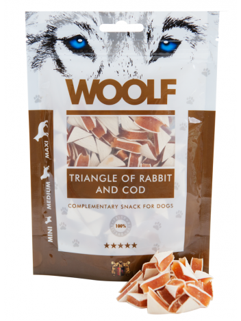 Woolf Triangle of Rabbit and Cod 100g