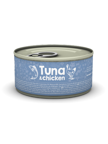 Naturea Tuna with chicken 85g