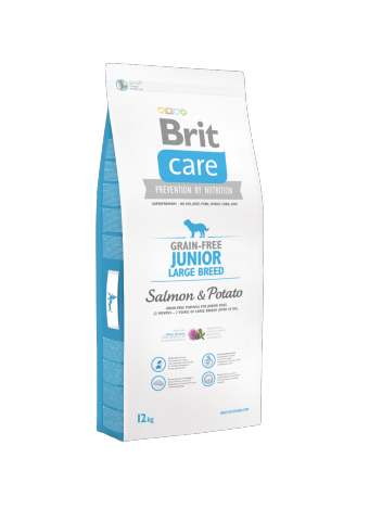 Brit Care Junior Large Breed Salmon & Potato - 12kg