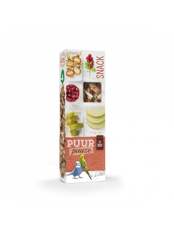 Puur pauze seed sticks budgie with apple and pear 60g