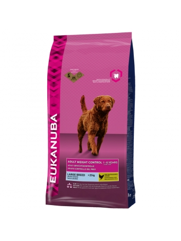 Eukanuba Adult Weight Control Large Breed  - 15kg