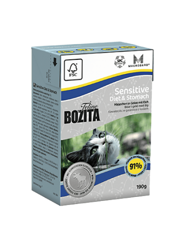 Bozita Sensitive Diet & Stomach - 190g