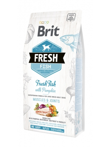 Brit Fresh Adult Large Breed Fish & Pumpkin - 2,5kg