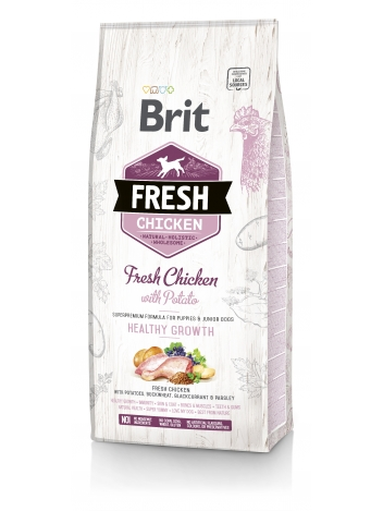 Brit Fresh Puppy & Junior Chicken & Potato - 12kg