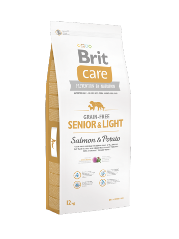 Brit Care Grain-free Senior Light Salmon - 12kg