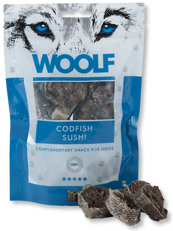 Woolf Codfish Sushi 100g