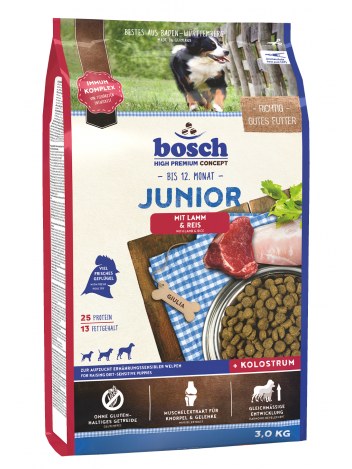 Bosch Junior Lamb & Rice - 3kg
