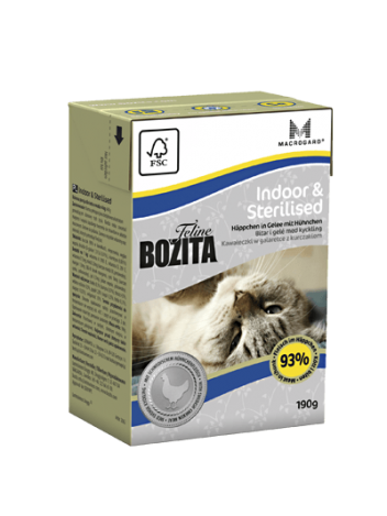 Bozita Indoor & Sterilised - 190g
