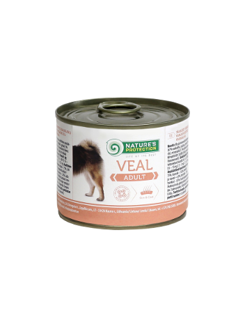 Nature's Protection Adult Veal 200g