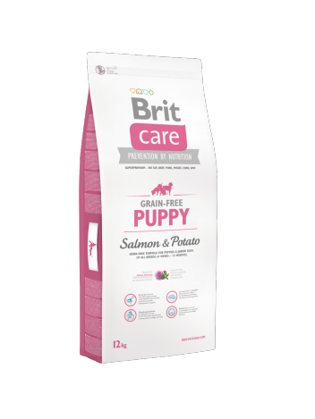 Brit Care Grain-free Puppy Salmon & Potato - 12kg