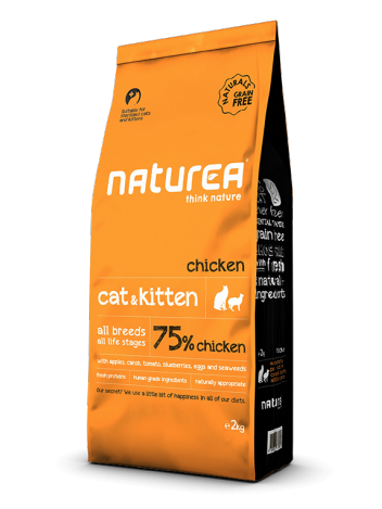 Naturea Cat & Kitten Chicken 100g