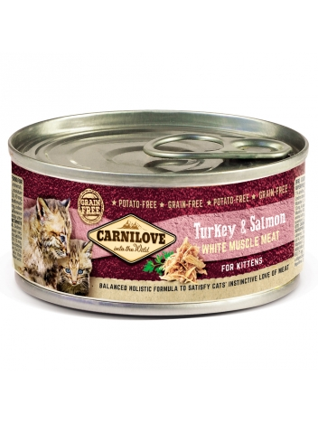Carnilove Kitten Turkey & Salmon 100g
