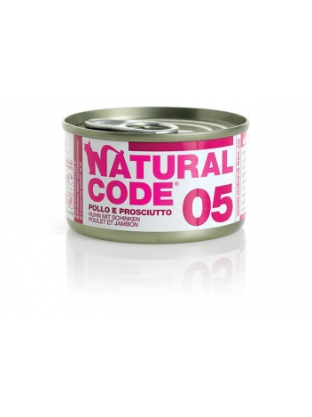 Natural Code Cat 05 Chicken and ham 85g