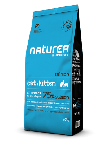 Naturea Cat & Kitten Salmon 100g