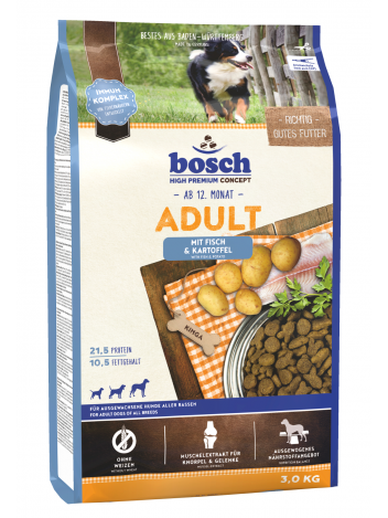 Bosch Adult Fish & Potatoes - 3kg