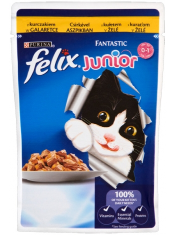 Felix Fantastic Junior - 100g
