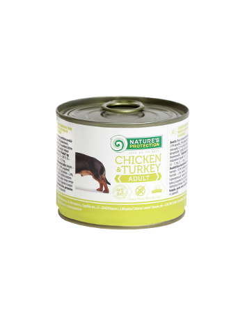 Nature's Protection Adult Chicken & Turkey 200g