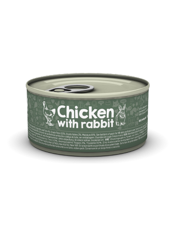Naturea Chicken with Rabbit 85g