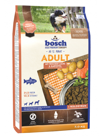 Bosch Adult Salmon & Potato - 3kg