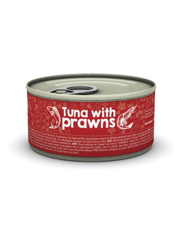 Naturea Tuna with Prawns 85g