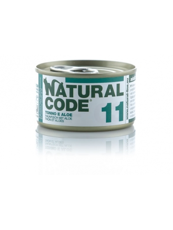 Natural Code Cat 11 Tuna and aloe 85g