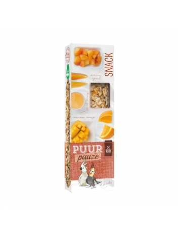 Puur pauze seed sticks large parakeet & cockatoo 140g