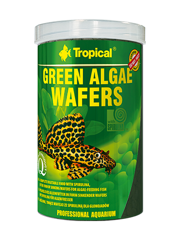 Green Algae Wafers - 113g/250ml