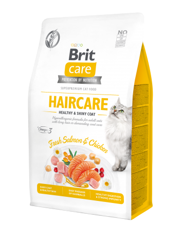 Brit Care Cat Adult Haircare 0,4kg