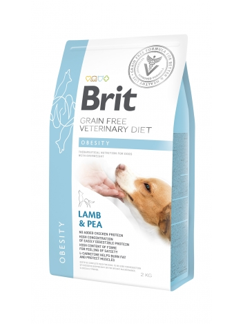 Brit Veterinary Diets Grain Free Obesity Lamb & Pea 2kg