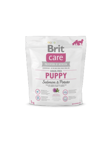 Brit Care Grain-free Puppy Salmon & Potato - 1kg