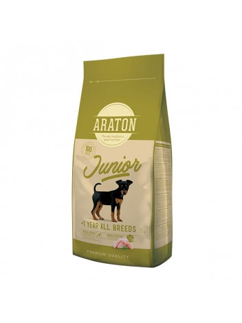 Araton Dog Junior Poultry All Breeds 15kg