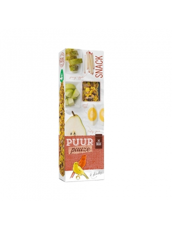 Puur pauze seed sticks canary with fruit & egg 60g