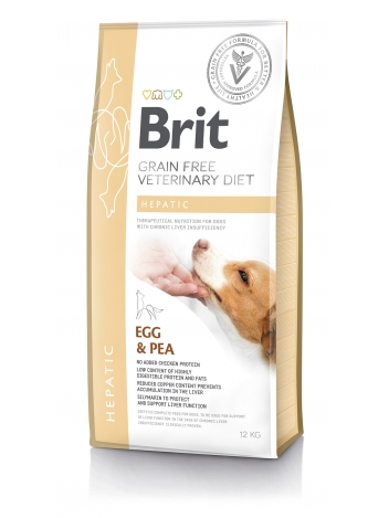Brit Veterinary Diets Grain Free Hepatic Egg & Pea 12kg