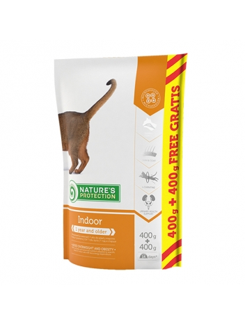 Nature's Protection Indoor 0,4+0,4kg
