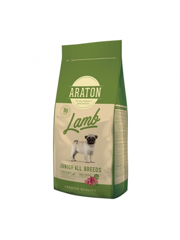 Araton Dog Junior Lamb All Breeds 15kg
