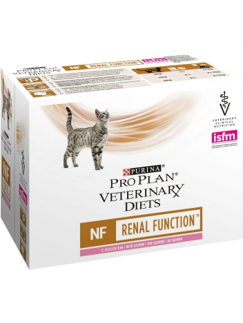 Pro Plan Veterinary NF Renal Function Salmon - 10x85g