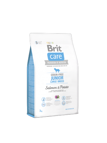 Brit Care Junior Large Breed Salmon & Potato - 3kg