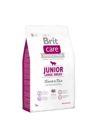Brit Care Junior Large Breed Lamb & Rice - 3kg