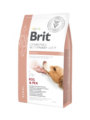 Brit Veterinary Diets Grain Free Renal Egg & Pea 2kg