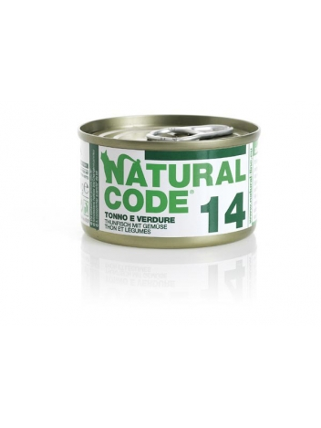 Natural Code Cat 14 Tuna and vegetables 85g