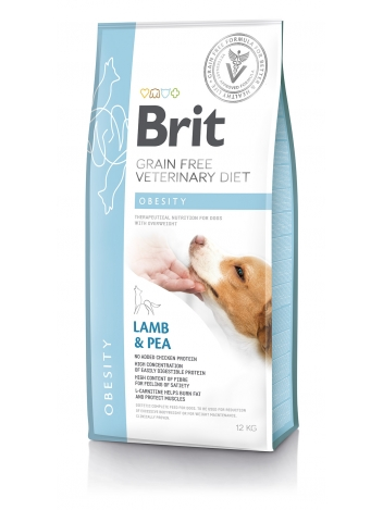 Brit Veterinary Diets Grain Free Obesity Lamb & Pea 12kg