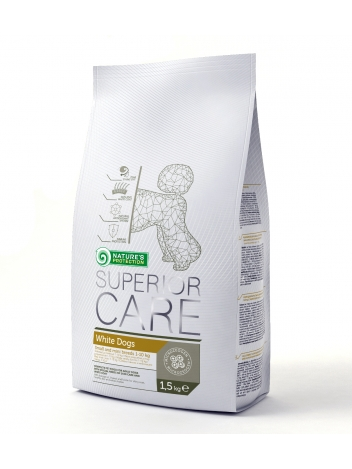 Nature's Protection Superior Care White Small Adult 1,5kg