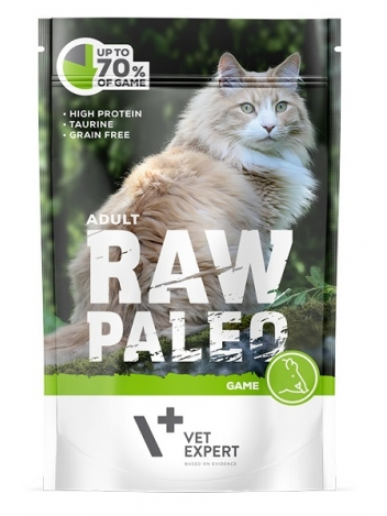 Raw Paleo Cat Adult Game 100g