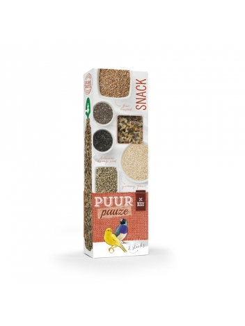 Puur pauze seed sticks ornamental birds with super seed 60g
