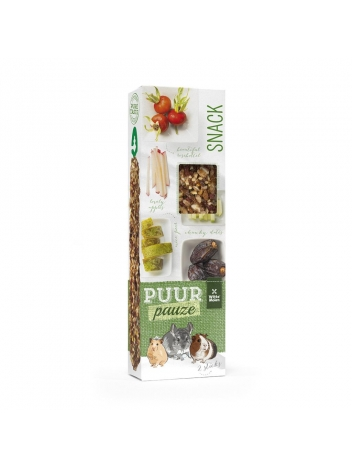 Puur pauze sticks european fruits with pear & date 110g