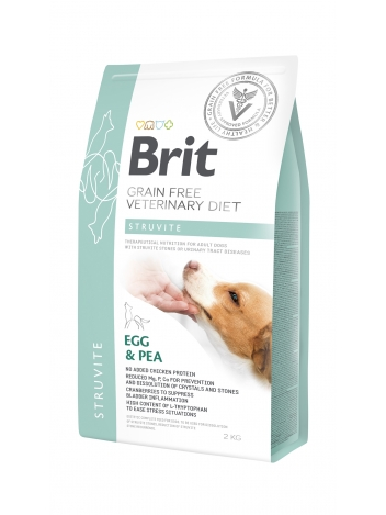 Brit Veterinary Diets Grain Free Struvite Egg & Pea 2kg