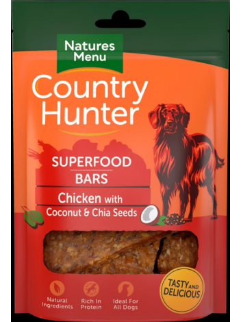 Country Hunter Superfood Bars Chicken 100g