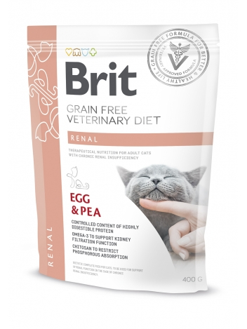 Brit Veterinary Diets Grain Free Renal Egg & Pea 400g